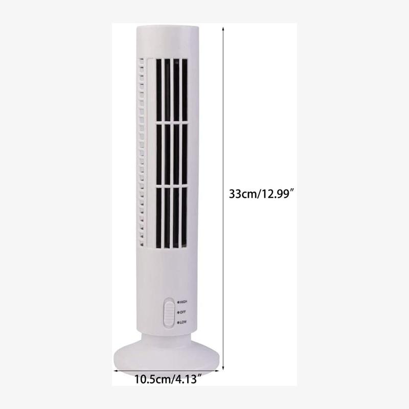USB-Sans-Feuilles-Petite-Tour-de-Ventilateur-Ventilateur-eLectrique-Ventila-N6D2 miniature 2