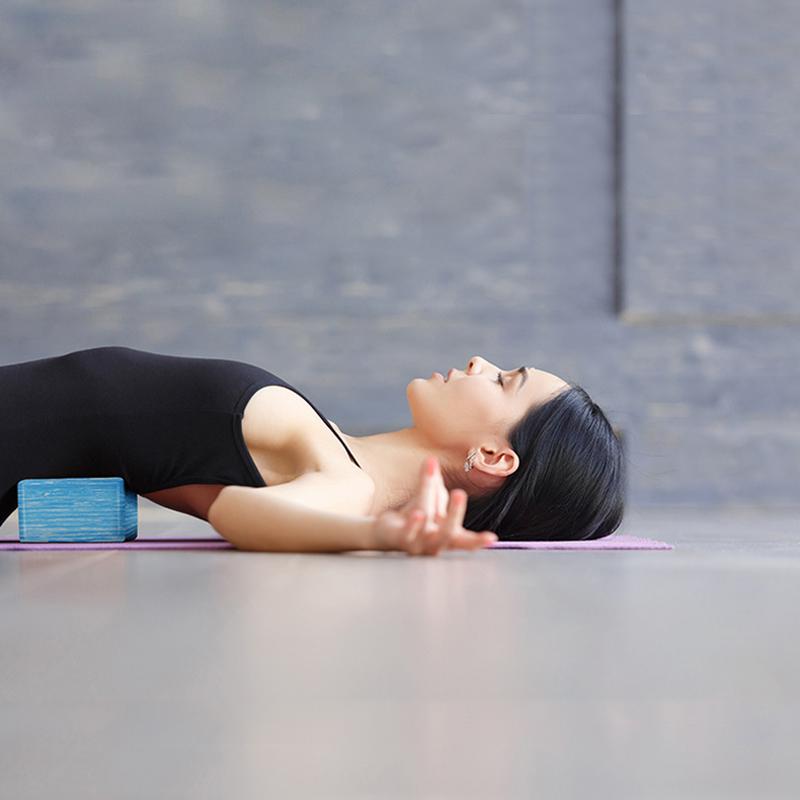 thumbnail 12 - 2 Pack Yoga Blocks Balance Aid Blocks EVA Strength Fitness Exercise Pilates F9A5