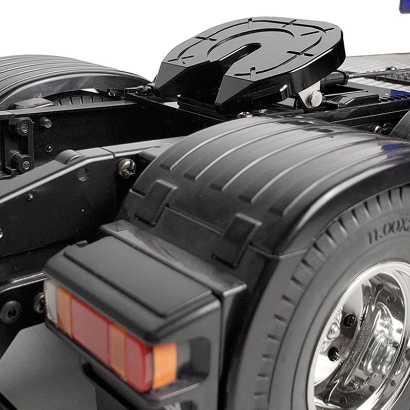 RC-Auto-Metall-Kupplung-Schleif-Scheiben-fuer-1-14-Tamiya-Abschlepp-Wagen-33-Q7Z3 Indexbild 2