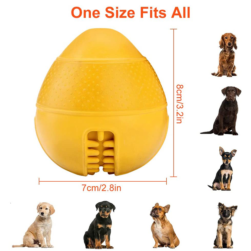 thumbnail 3 - Dog Jolly Ball ,Ball Rubber Chewing Interactive Dog Toy Super Tough Tooth C X4D7