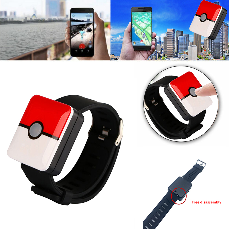 miniatura 4 - Bluetooth Reloj Inteligente Pulsera Interruptor de banda de carga para Pokemons ir Plus P C5D4