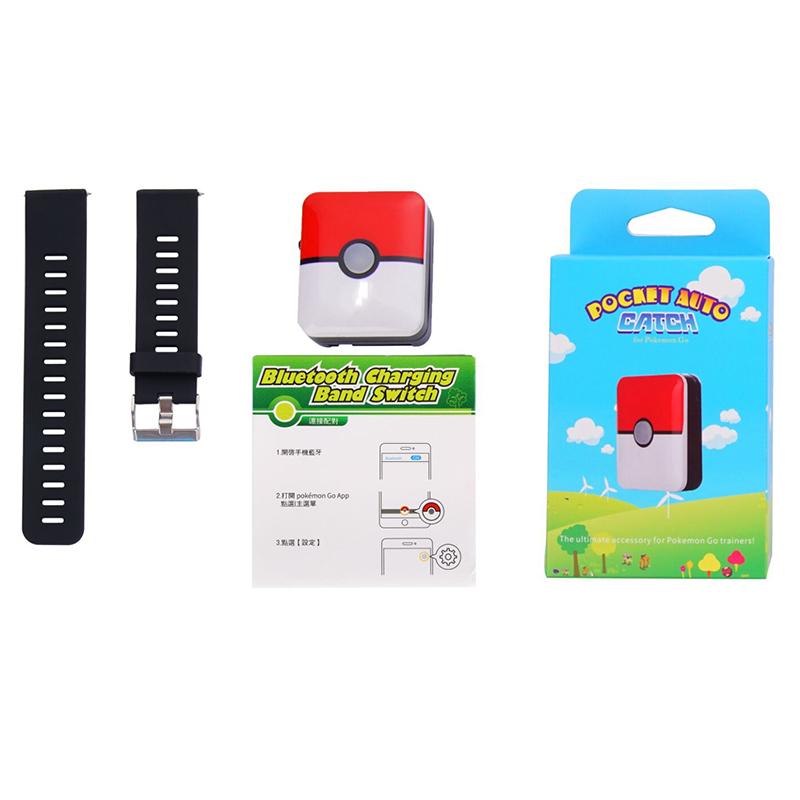 miniatura 30 - Bluetooth Reloj Inteligente Pulsera Interruptor de banda de carga para Pokemons ir Plus P C5D4