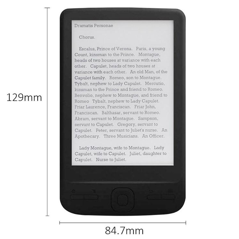 4-3-Inch-E-Ink-Ebook-Reader-800X600-Ereader-Electronic-Paper-Book-with-Fron-G8S9 thumbnail 3