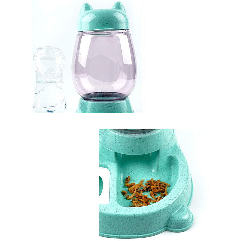 thumbnail 11 - 1X-Pet-Automatic-Feeder-Cat-Dog-Food-Dispenser-Water-Drinking-Bowl-Feeding-Q4B5