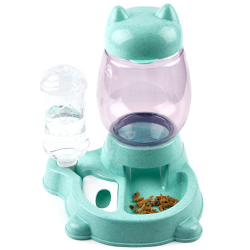thumbnail 16 - Pet-Automatic-Feeder-Cat-Dog-Food-Dispenser-Water-Drinking-Bowl-Feeding-Dis-V4X3