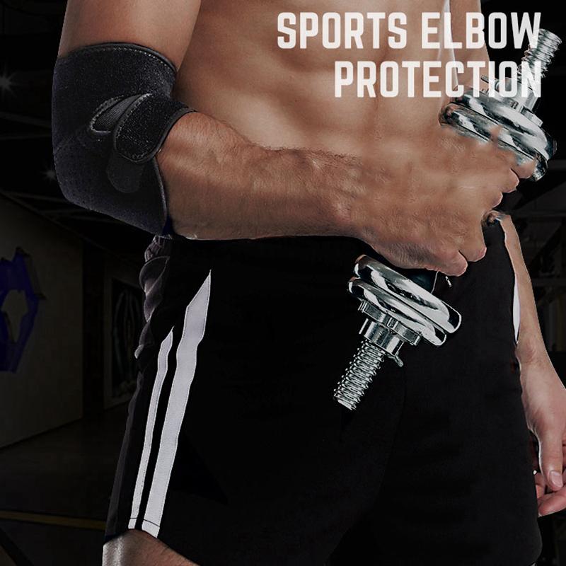 Boer-Elbow-Support-Verstellbare-Tennisellenbogen-StueTzstrebe-perfekt-fuer-Ve-R4I6 Indexbild 4