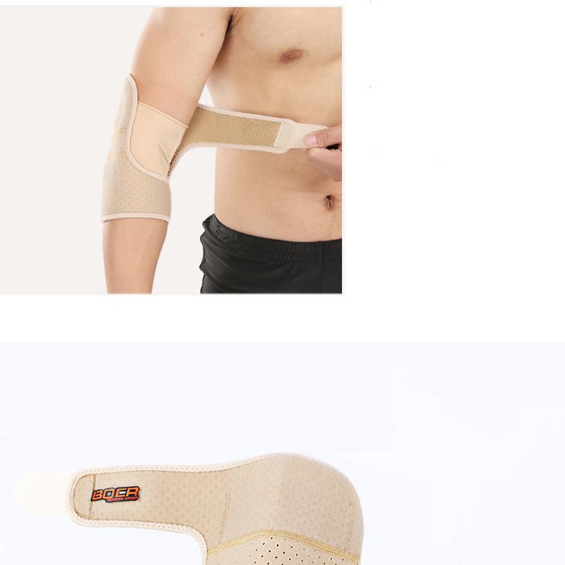 Boer-Elbow-Support-Verstellbare-Tennisellenbogen-StueTzstrebe-perfekt-fuer-Ve-R4I6 Indexbild 10