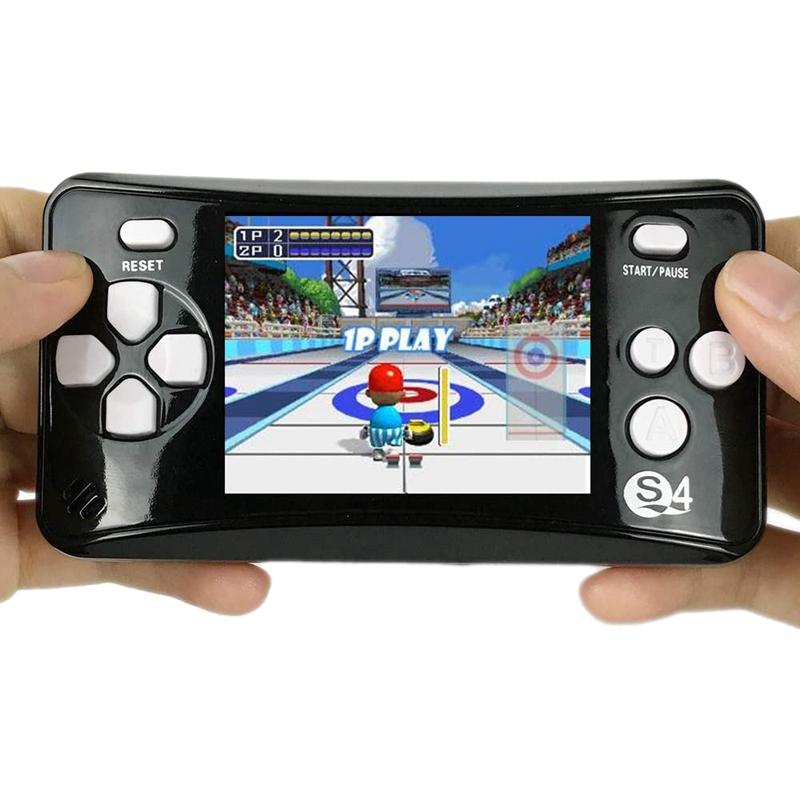 miniature 5 - Portable Handheld Console de jeu pour Children, Arcade System Consoles de jeu vidv 3D9