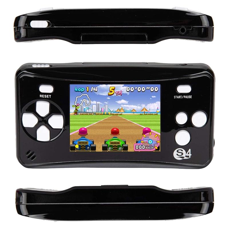miniature 8 - Portable Handheld Console de jeu pour Children, Arcade System Consoles de jeu vidv 3D9
