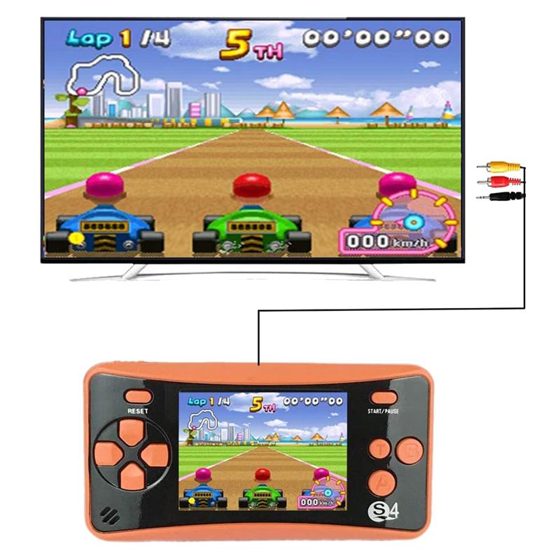 miniature 11 - Portable Handheld Console de jeu pour Children, Arcade System Consoles de jeu vidv 3D9