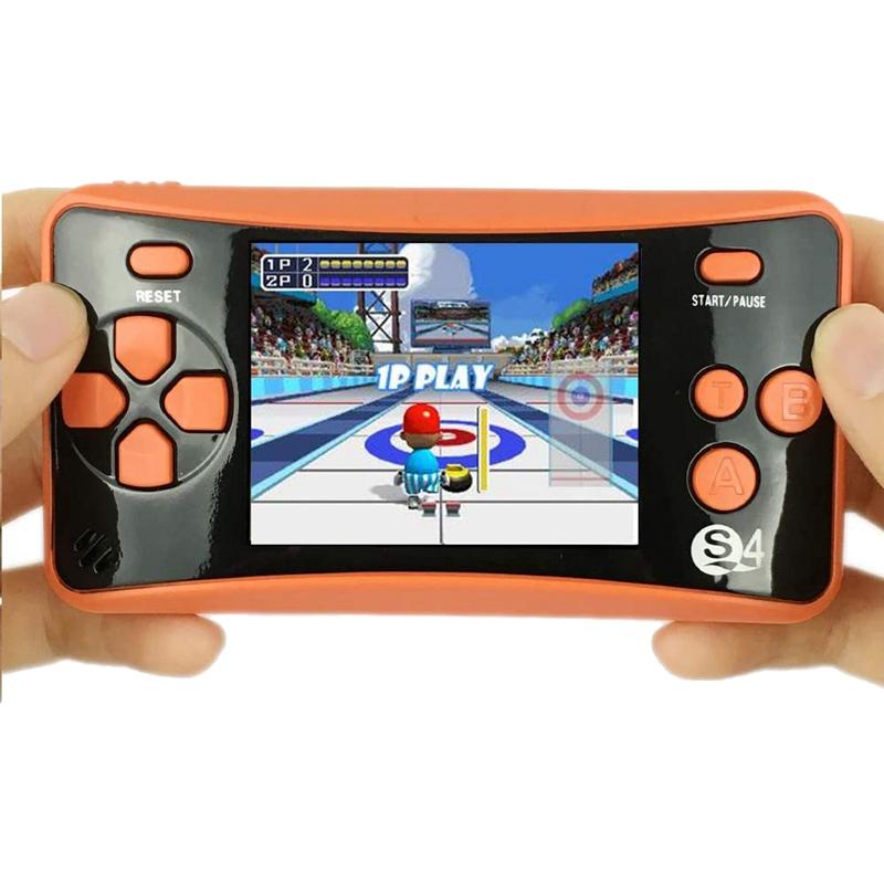 miniature 12 - Portable Handheld Console de jeu pour Children, Arcade System Consoles de jeu vidv 3D9