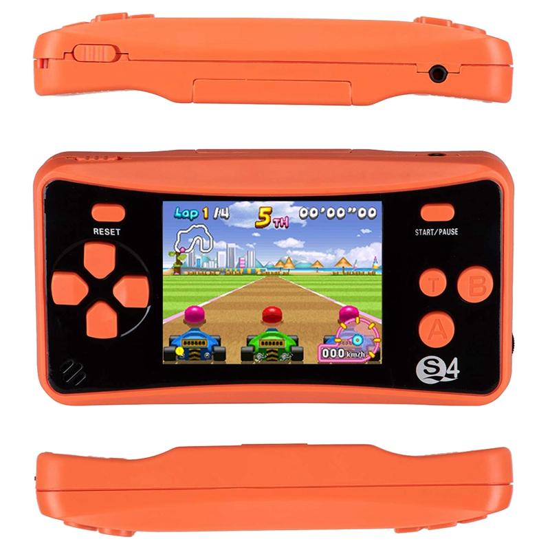 miniature 13 - Portable Handheld Console de jeu pour Children, Arcade System Consoles de jeu vidv 3D9