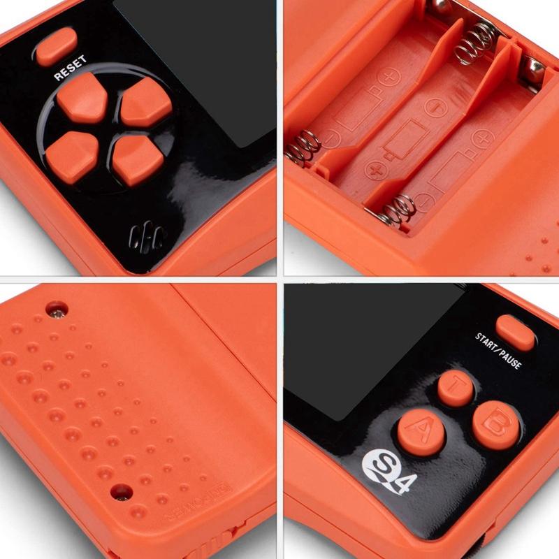 miniature 15 - Portable Handheld Console de jeu pour Children, Arcade System Consoles de jeu vidv 3D9