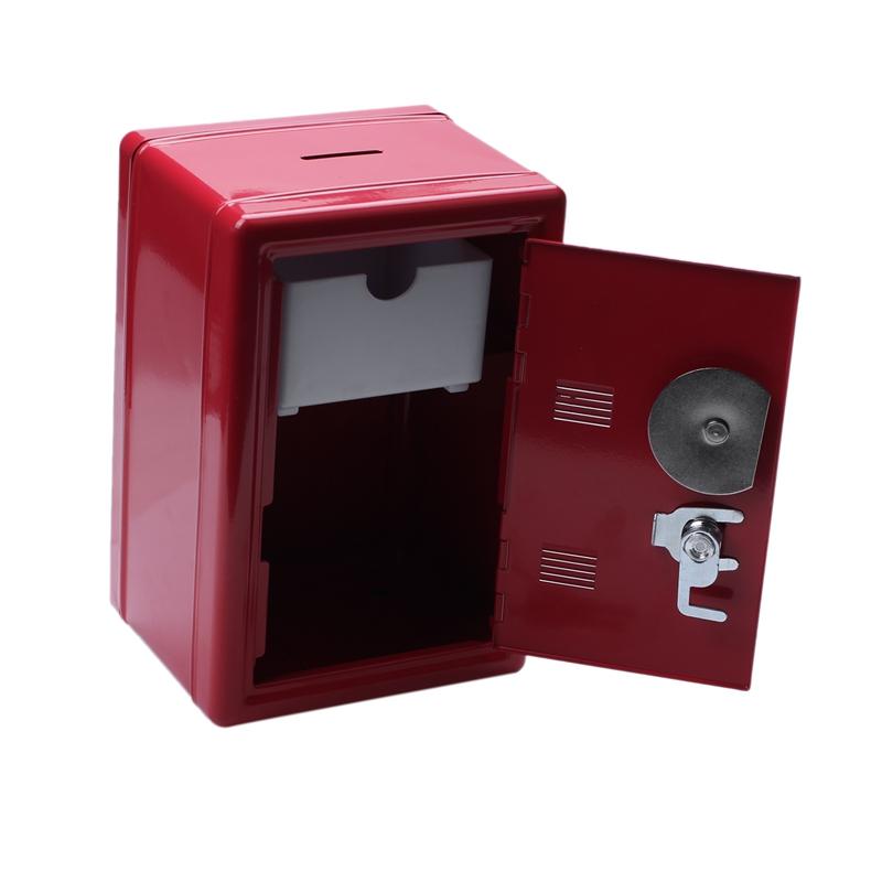 3X-Hucha-Creativa-Mini-Atm-Caja-de-Dinero-Contrasena-Digital-Monedas-Efecti-9G3 miniatura 12