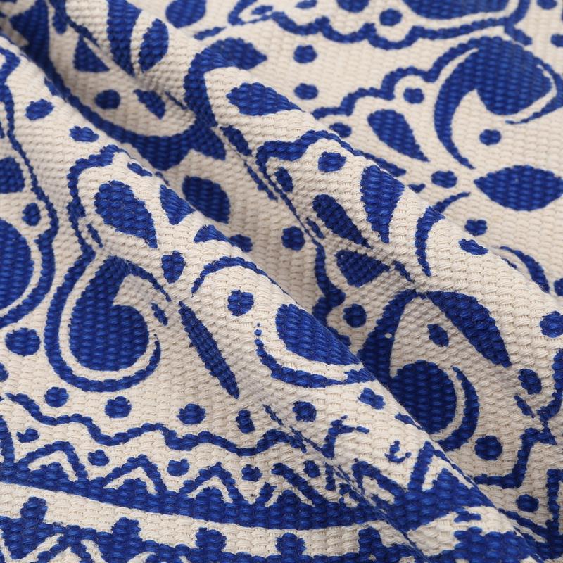 Morocco-Round-Carpet-Bedroom-Boho-Style-Tassel-Cotton-Rug-Hand-Woven-Nation-W5V4 thumbnail 26