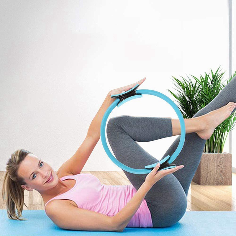 Pilates-Ring-Fitness-Magic-Pilates-Circle-Traje-de-Gimnasio-en-Casa-N5I5 miniatura 6