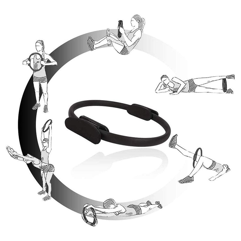 Pilates-Ring-Fitness-Magic-Pilates-Circle-Traje-de-Gimnasio-en-Casa-N5I5 miniatura 10