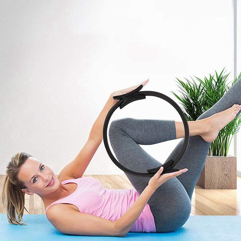 Pilates-Ring-Fitness-Magic-Pilates-Circle-Traje-de-Gimnasio-en-Casa-N5I5 miniatura 12