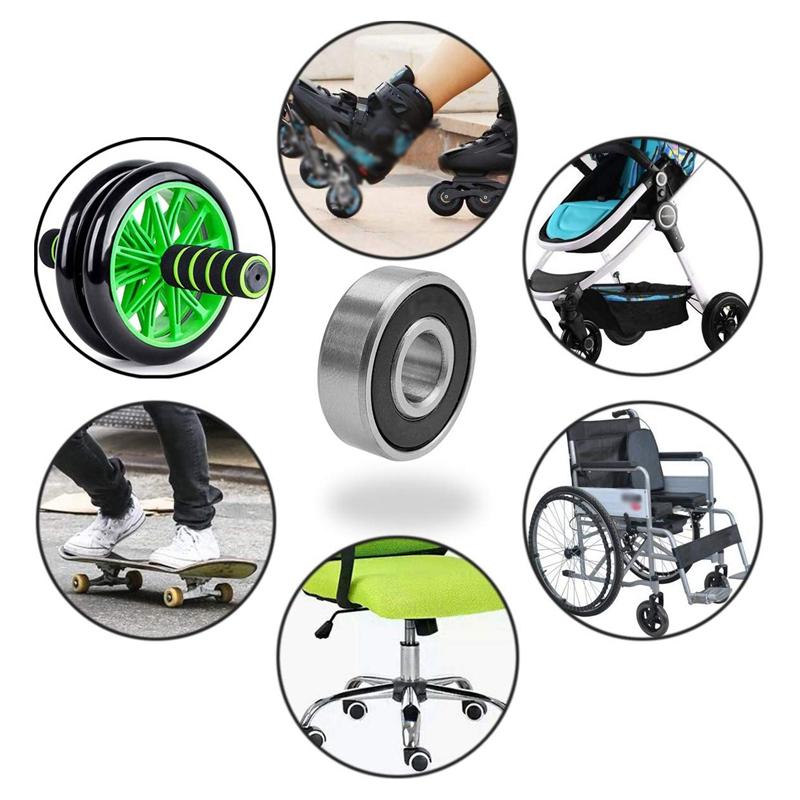 Inline-Skates, Rollschuhe, Skateboarding & Scooter Kugellager byom ...