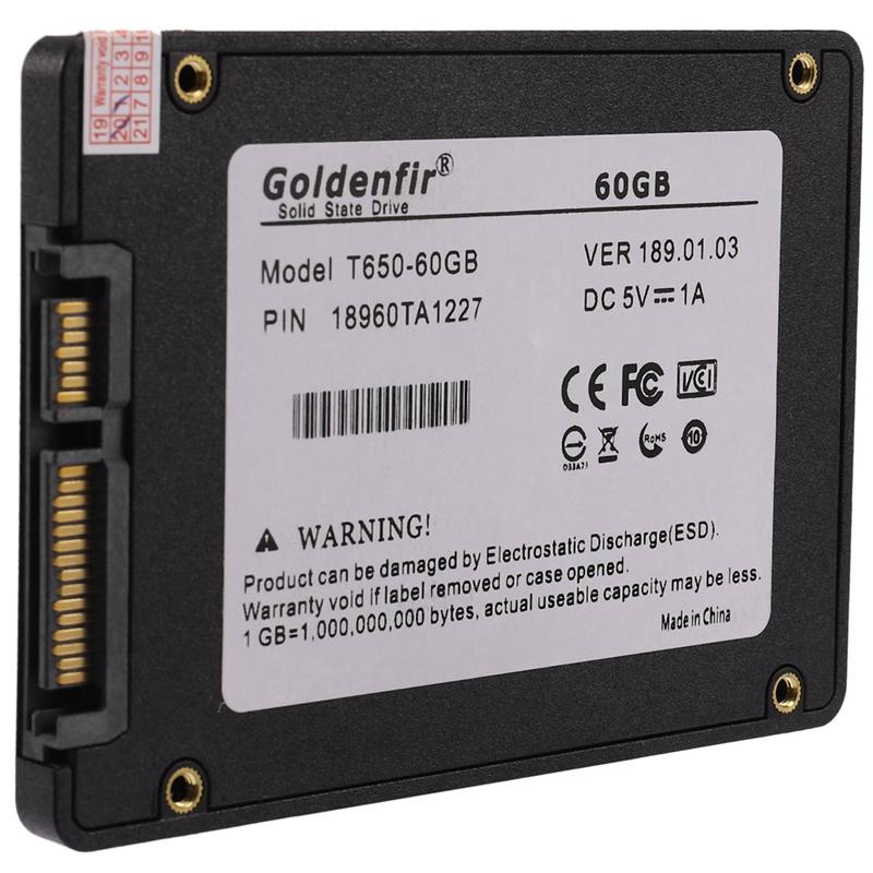 Indexbild 5 - Goldenfir-Ssd-2-5-Zoll-Solid-State-Fest-Platten-Laufwerk-Fest-Platte-L3J6-E5