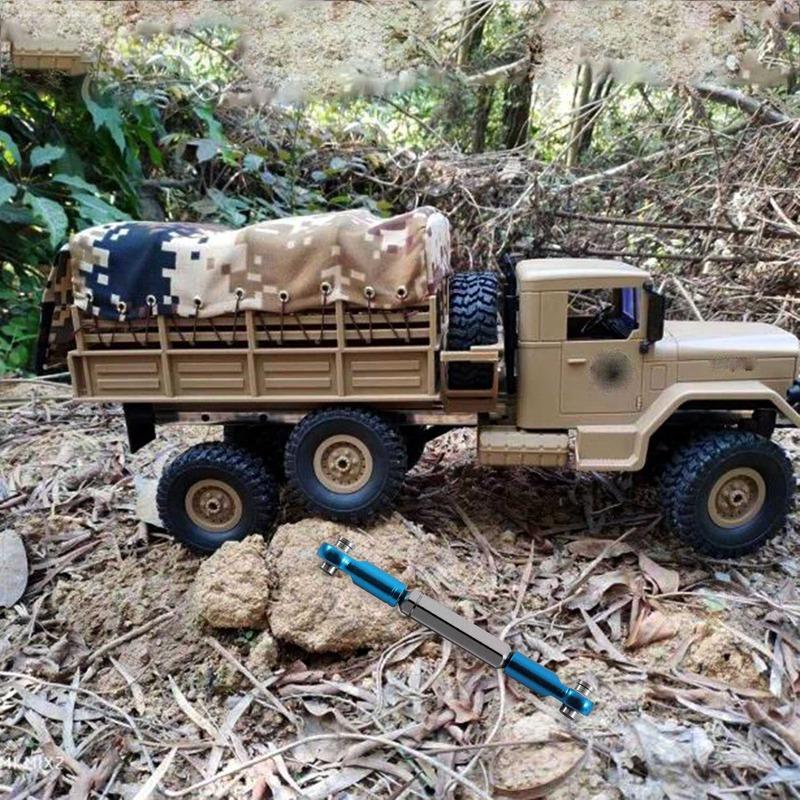 fuer-Metall-Spurstange-fuer-WPL-1-16-Henglong-Truck-Crawler-Update-Teile-V3A7 Indexbild 4