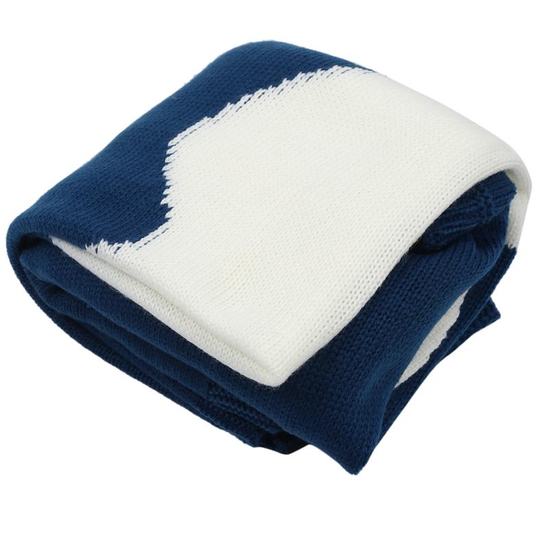 thumbnail 12 - Baby Blankets Newborn Cute Big Rabbit Ear Blanket Soft Warm Knitted Swaddle Z9Z4