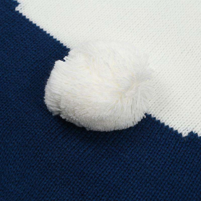 thumbnail 13 - Baby Blankets Newborn Cute Big Rabbit Ear Blanket Soft Warm Knitted Swaddle Z9Z4