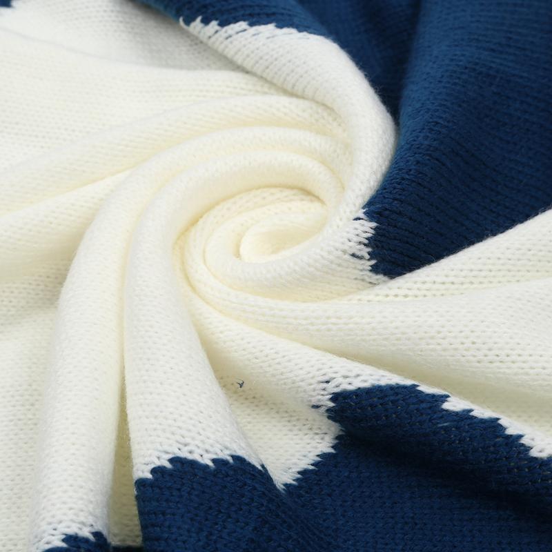 thumbnail 17 - Baby Blankets Newborn Cute Big Rabbit Ear Blanket Soft Warm Knitted Swaddle Z9Z4