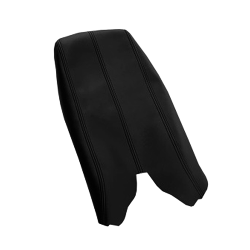 Car Center Console Armrest Leather Synthetic Cover For