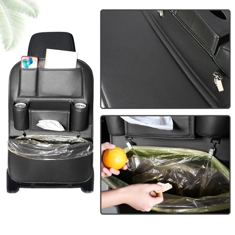 Car-Rear-Seat-Storage-Bag-Seat-Back-Bag-Garbage-Bag-Multifunctional-Rear-X1V7 thumbnail 3