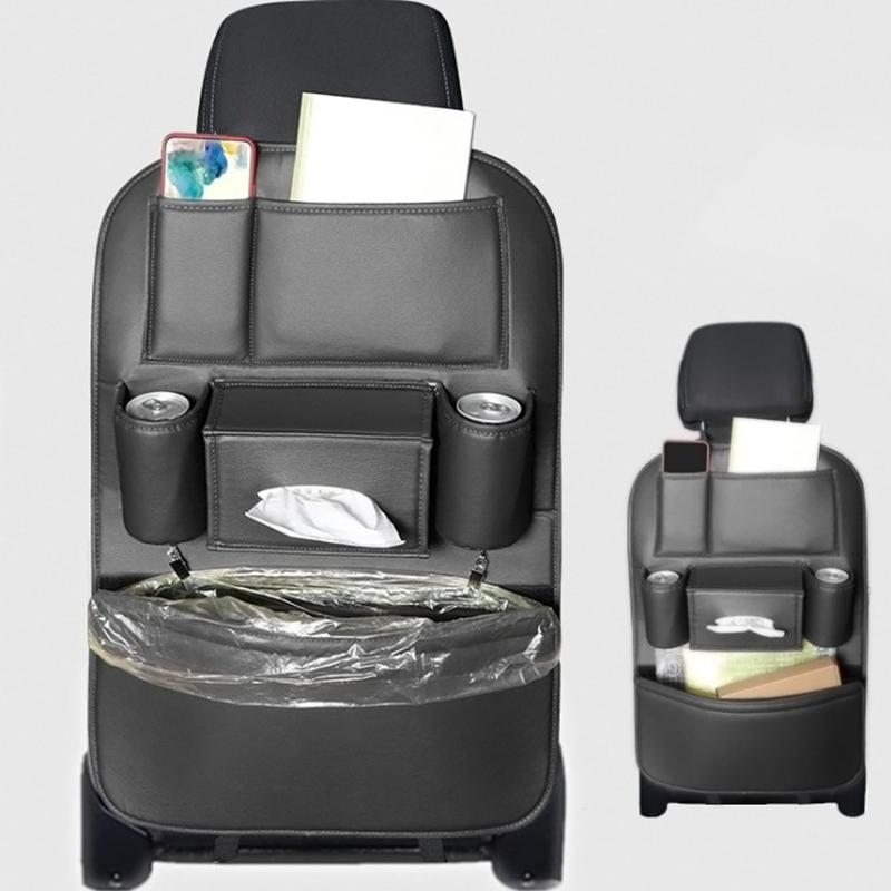 Car-Rear-Seat-Storage-Bag-Seat-Back-Bag-Garbage-Bag-Multifunctional-Rear-X1V7 thumbnail 4