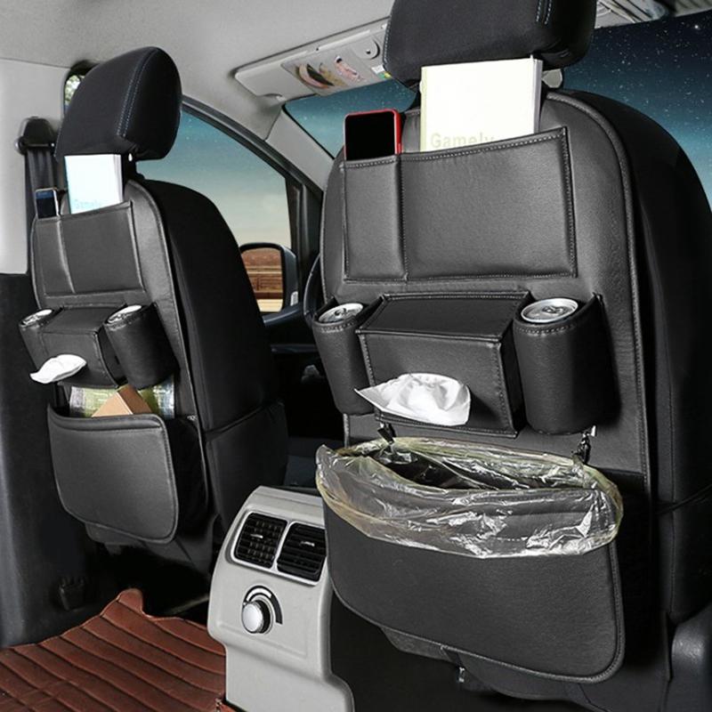 Car-Rear-Seat-Storage-Bag-Seat-Back-Bag-Garbage-Bag-Multifunctional-Rear-X1V7 thumbnail 5