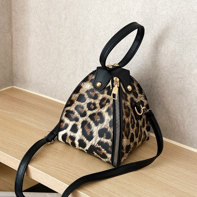 Handbags-Messenger-Bags-Print-Women-039-S-Trend-Large-Capacity-Leather-ShoulderX9H6 thumbnail 9