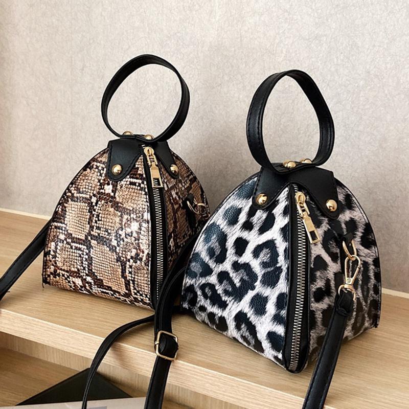 Handbags-Messenger-Bags-Print-Women-039-S-Trend-Large-Capacity-Leather-ShoulderX9H6 thumbnail 17