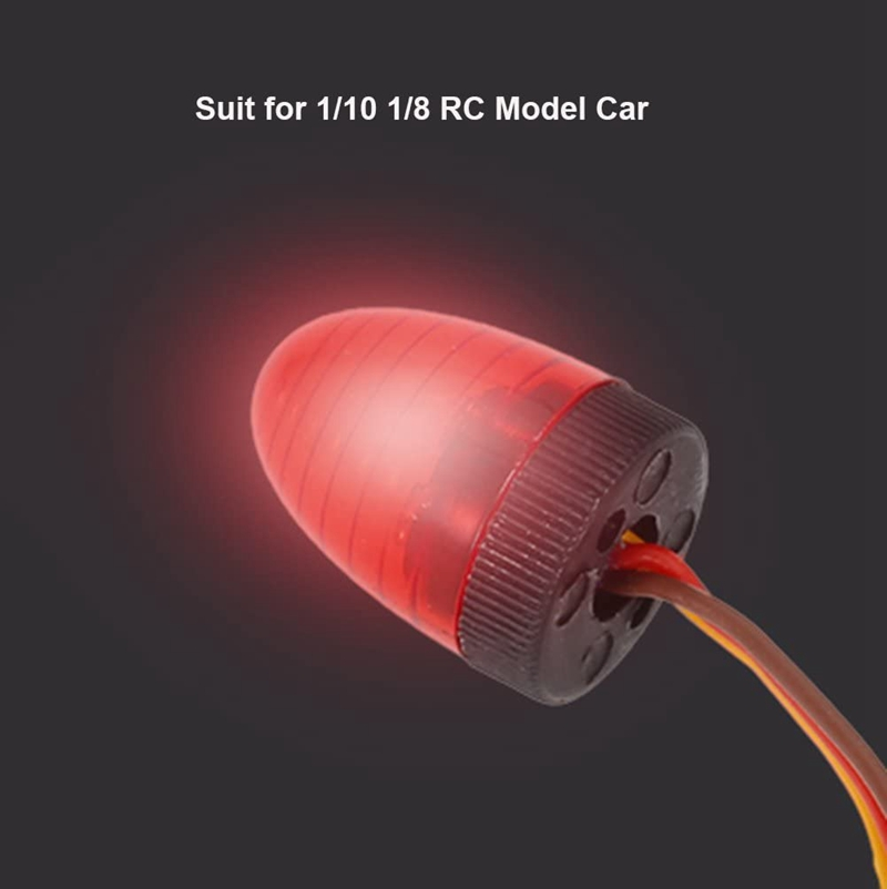 5-Modos-De-Luz-Led-Ultra-Bright-Giratoria-Intermitente-Lampara-de-policia-para-1-8-1-10-R-N4R3 miniatura 4