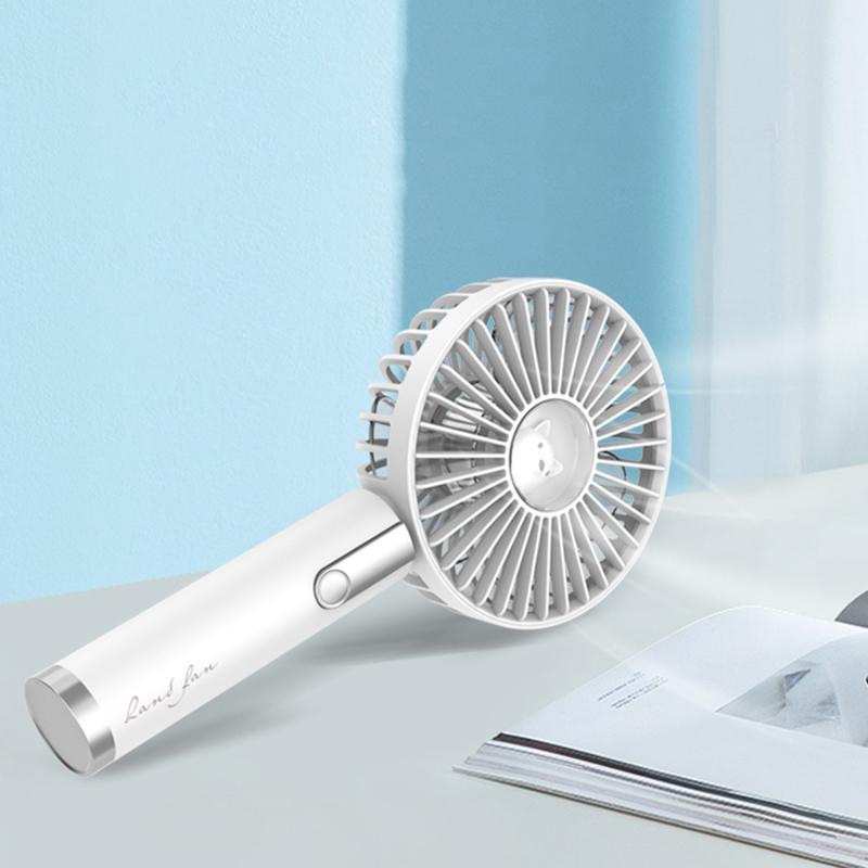 Ventilador-de-Mano-USB-Mini-Ventilador-de-RefrigeracioN-Aire-Acondicionado-W3I1 miniatura 4