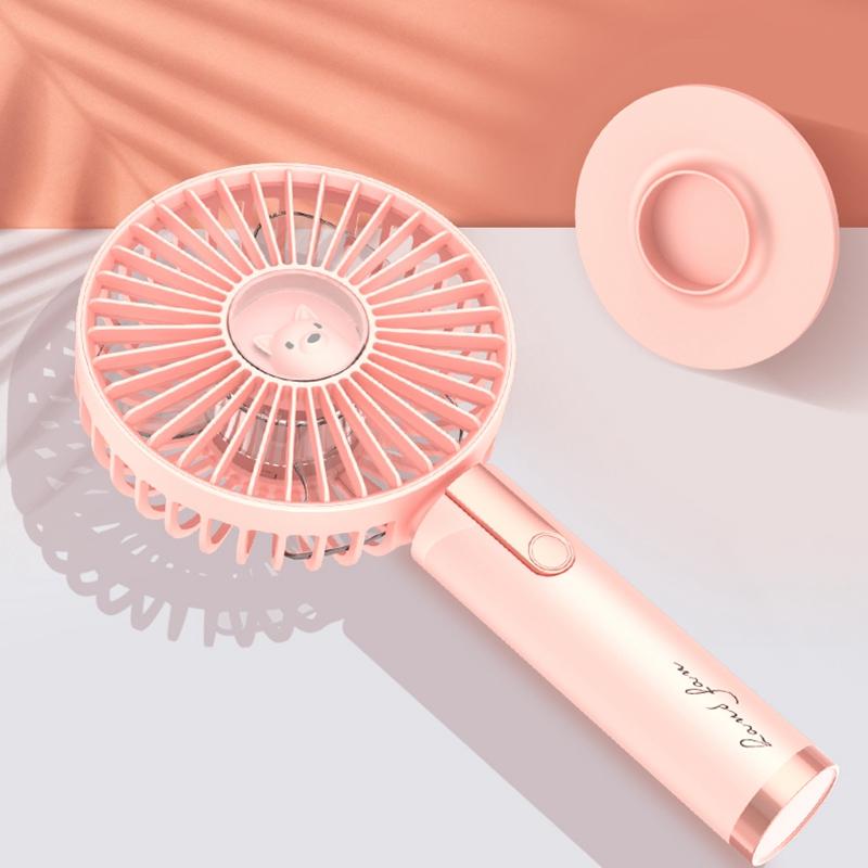 Ventilador-de-Mano-USB-Mini-Ventilador-de-RefrigeracioN-Aire-Acondicionado-W3I1 miniatura 6