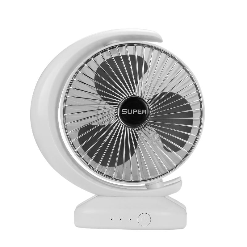 Ventilateur-Rechargeable-Ventilateur-eLectrique-de-Bureau-USB-Mini-Ventilat-K3Q9 miniature 8