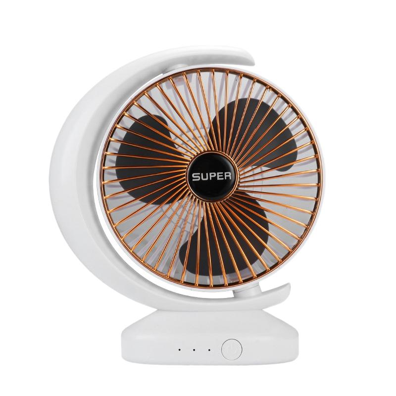 Ventilateur-Rechargeable-Ventilateur-eLectrique-de-Bureau-USB-Mini-Ventilat-K3Q9 miniature 12