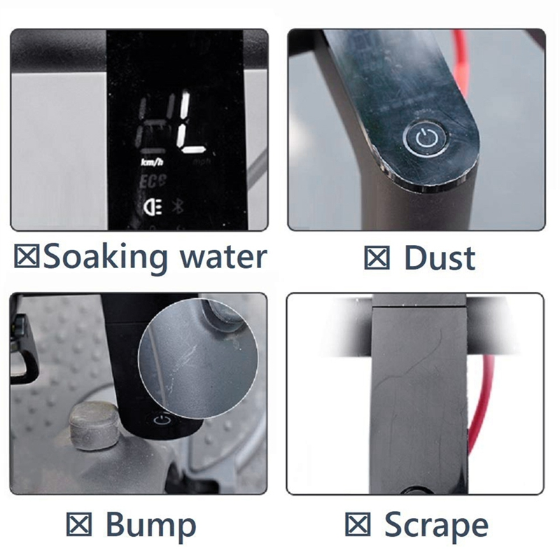 4X-Scooter-Waterproof-Silicone-Case-for-Ninebot-MAX-G30-Dashboard-Panel-Cir8A4 thumbnail 8
