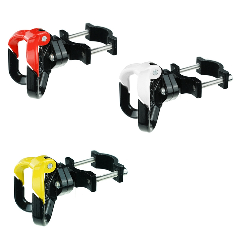 Elektroroller-Aluminiumbeutel-Doppelhaken-fuer-Ninebot-Max-G30-Scooter-Hange-Q7Y1 Indexbild 5