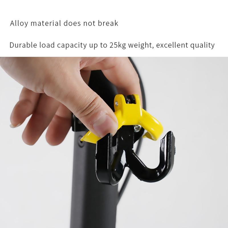 Elektroroller-Aluminiumbeutel-Doppelhaken-fuer-Ninebot-Max-G30-Scooter-Hange-Q7Y1 Indexbild 10