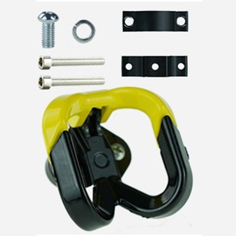 Elektroroller-Aluminiumbeutel-Doppelhaken-fuer-Ninebot-Max-G30-Scooter-Hange-Q7Y1 Indexbild 14