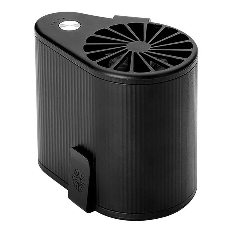 Mini-Ventilador-Ventilador-Alimentado-por-USB-Ventilador-de-Cintura-Suspend-F6W7 miniatura 10