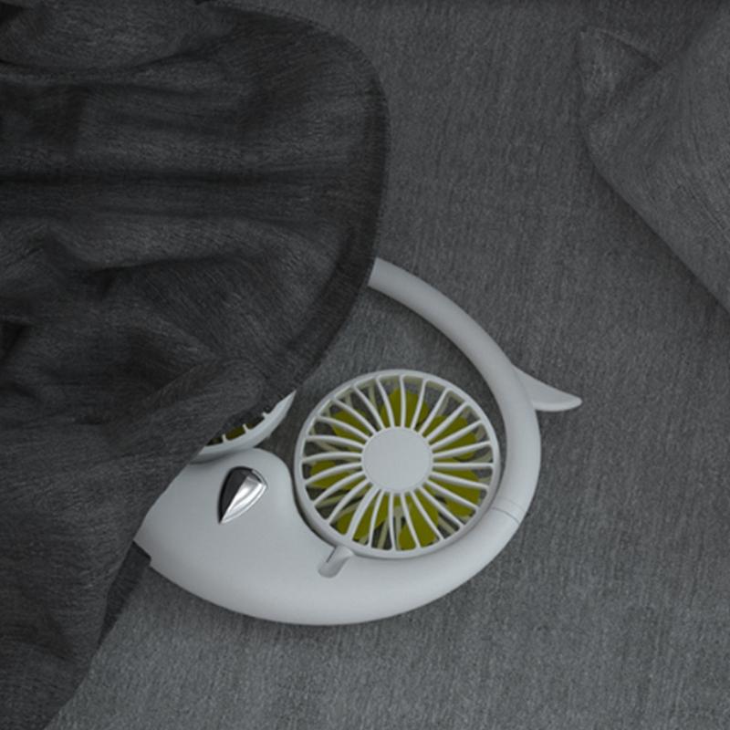 Ventilateur-Portatif-Mains-Libres-a-180-DegreS-USB-Ventilateur-de-Sport-Rec-J3H2 miniature 6