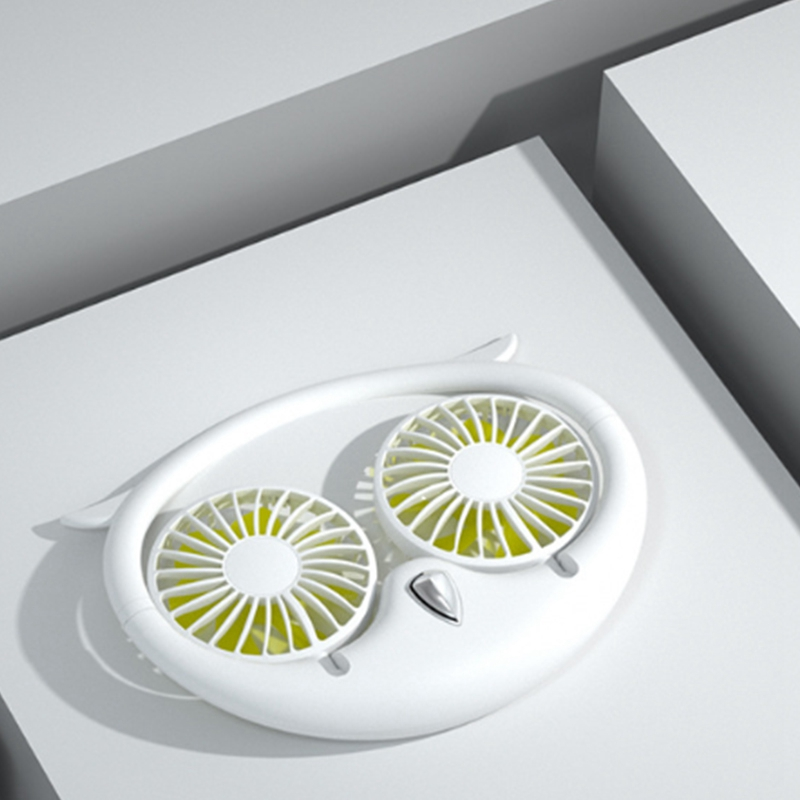 Ventilateur-Portatif-Mains-Libres-a-180-DegreS-USB-Ventilateur-de-Sport-Rec-J3H2 miniature 7