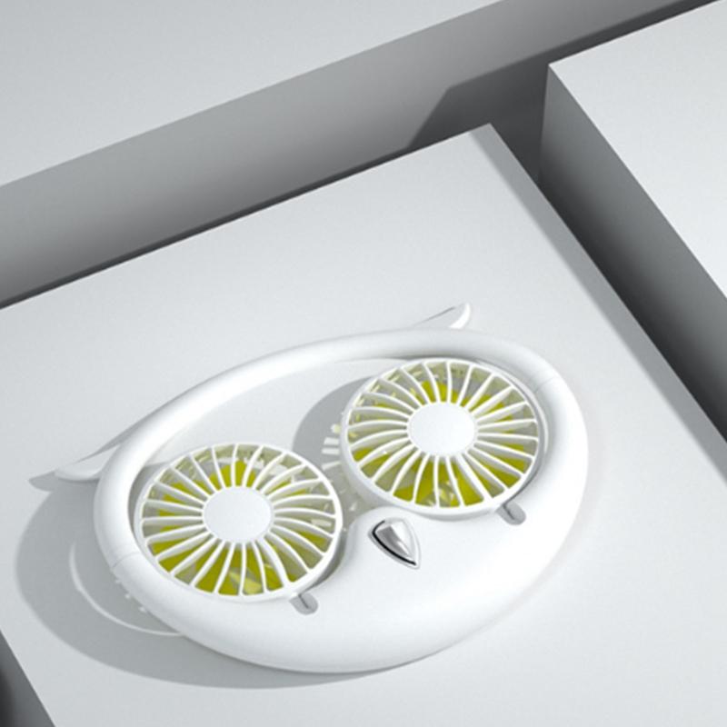 Ventilateur-Portatif-Mains-Libres-a-180-DegreS-USB-Ventilateur-de-Sport-Rec-J3H2 miniature 13