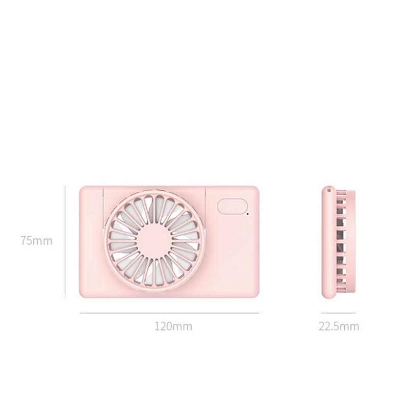 PortaTil-USB-Recargable-Mini-Ventilador-Cuello-Ventilador-PequenO-Ventilado-P6M9 miniatura 7