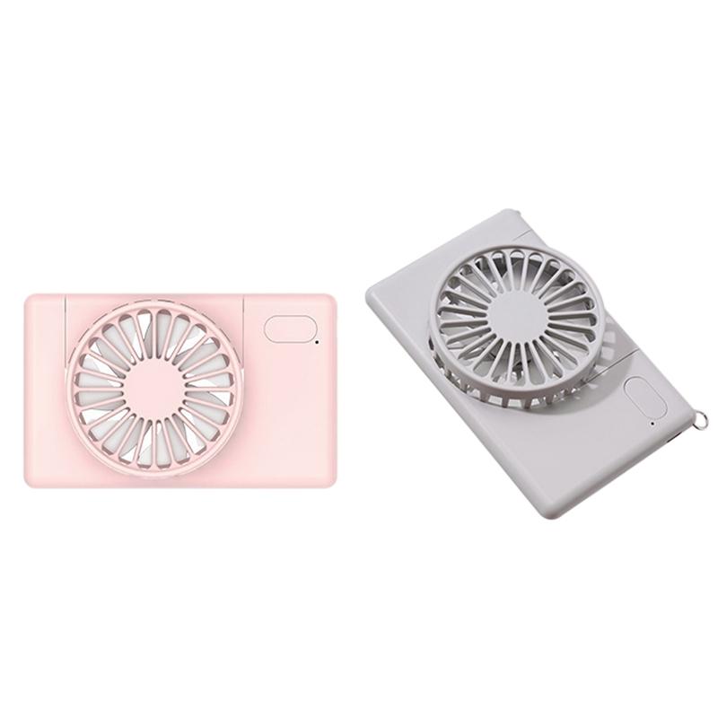 PortaTil-USB-Recargable-Mini-Ventilador-Cuello-Ventilador-PequenO-Ventilado-P6M9 miniatura 10
