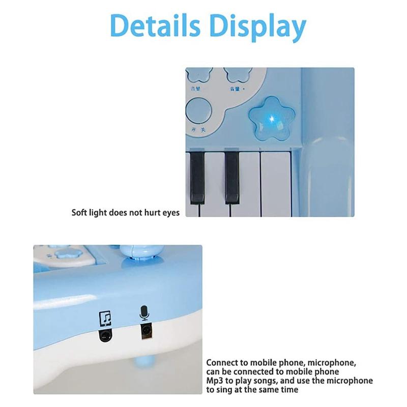 Principiante-di-Strumento-Musicale-Pianoforte-Elettronico-Multifunzionale-C-H8T7 miniatura 4